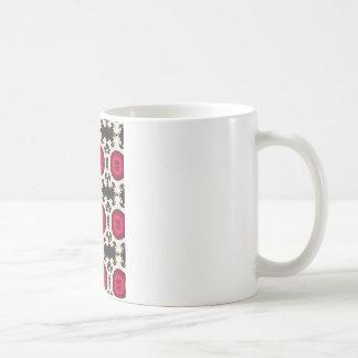 Peruvian Vintage Rustic Southwest pattern Basic White Mug