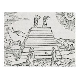 Peruvians Worshipping the Sun' Postcard
