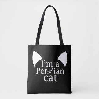 Perzzzian Cat Tote Bag