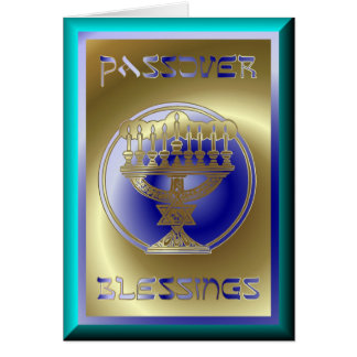 Pesach Passover Jewish Holiday Greeting Card