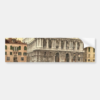 Pesaro Palace, Venice, Italy classic Photochrom Bumper Stickers
