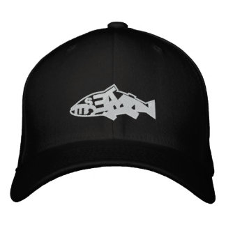 Pescetarian Embroidered Hat
