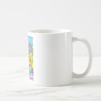 Pescoran Pop Peace Basic White Mug