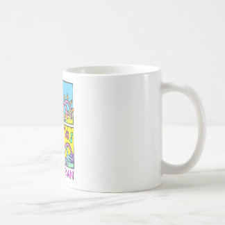 Pescoran Pop Peace Classic White Coffee Mug