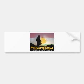 Peshmerga - FREEDOM FIGHTERS OF KURDISTAN Bumper Sticker