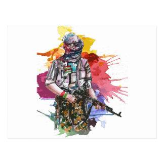 Peshmerga Freedom Warrior.png Postcard