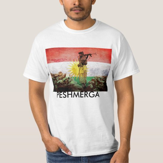 Peshmerga KURDISH FREEDOM FIGHTERS T-Shirt