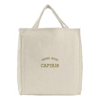 Pesonalised Boat Name Captain Bag Bags
