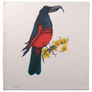 pesquets parrot, tony fernandes napkin