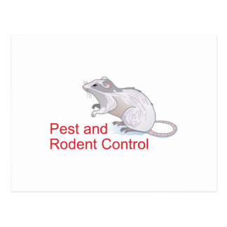 PEST AND RODENT CONTROL POSTCARD