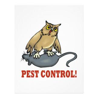 Pest Control 21.5 Cm X 28 Cm Flyer