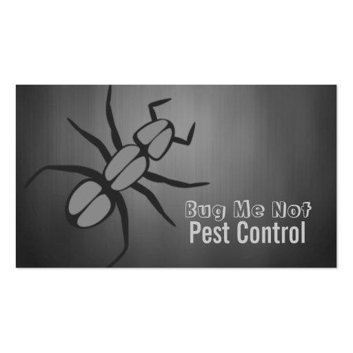Pest Control, Bugs Business Card