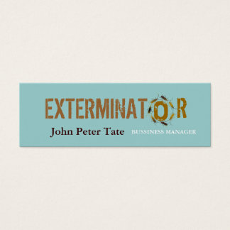 Pest Control - Business card