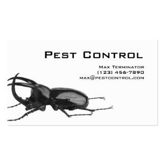 Pest Control Business Card Cockroach