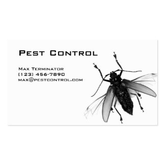Pest Control Business Card Fly