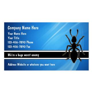 Pest Control Business Cards
