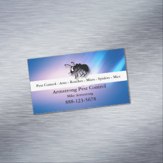 Pest Control Exterminator Ant Magnetic Business Card