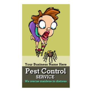 Pest Control.Exterminator.Bug Control.Customisable Pack Of Standard Business Cards