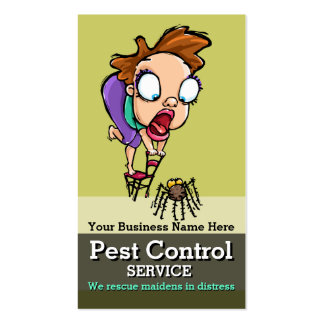 Pest Control.Exterminator.Bug Control.Customizable Pack Of Standard Business Cards