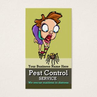 Pest Control.Exterminator.Bug Control.Customizable Business Card