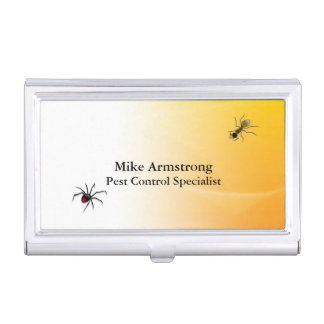 Pest Control Exterminator Bugs Insects Business Card Holder