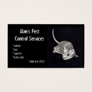 PEST CONTROL: MOUSE IN PENCIL: BUSINESS