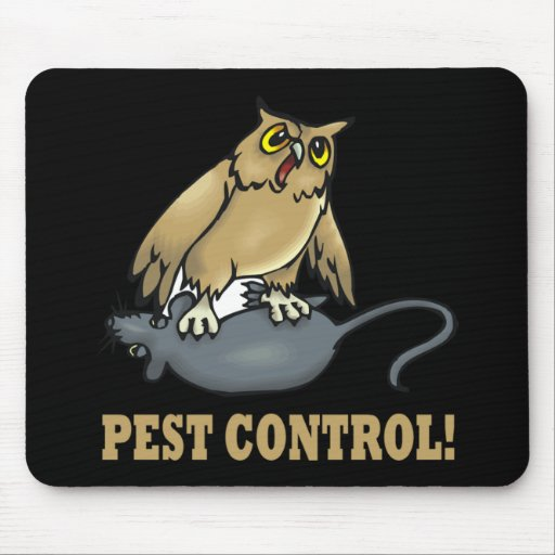 Pest Control Mouse Pad