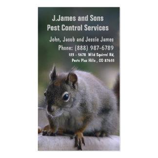 Pest Control Vermin Exterminator Pack Of Standard Business Cards