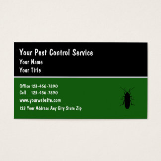 Pest Controll Business Cards