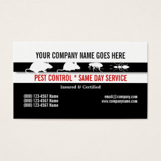 Pest Vermin Control Personalize