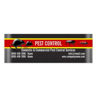 Pest Vermin Control Personalize Business Card Templates