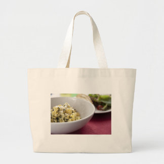 Pesto Perline Pasta Jumbo Tote Bag