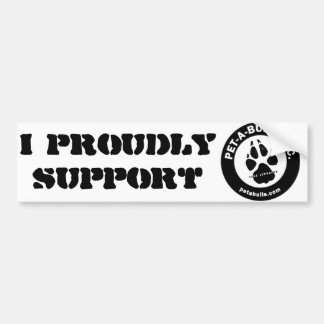 Pet-A-Bulls Bumper Sticker