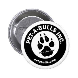 Pet-A-Bulls Button
