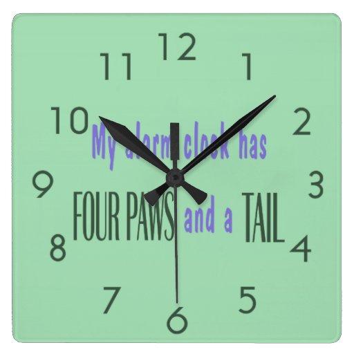 Pet Alarm Clock