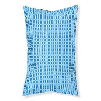 Pet-Bed-New-Market-Blue-Plaid-Unisex Pet Bed