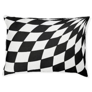 Pet Beds - Wonderland Floor in Black and White