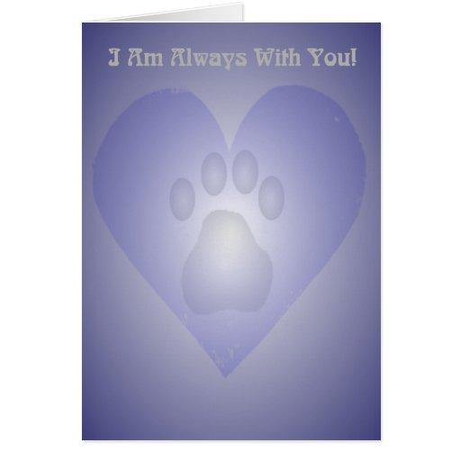 Pet Bereavement Card