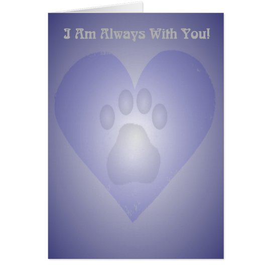 Pet Bereavement Card