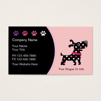 Pet Boutique Business Cards