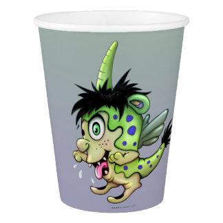 PET BOWIE ALIEN MONSTER PAPER CUP