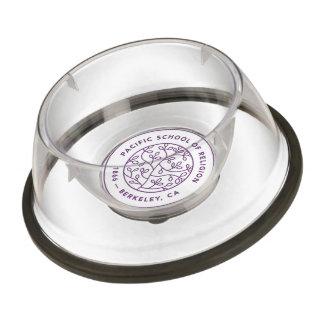Pet bowl with PSR Crest