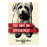 Pet Business Appointment Card - Personalizable