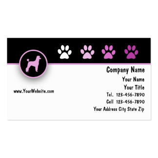 Pet Business Cards