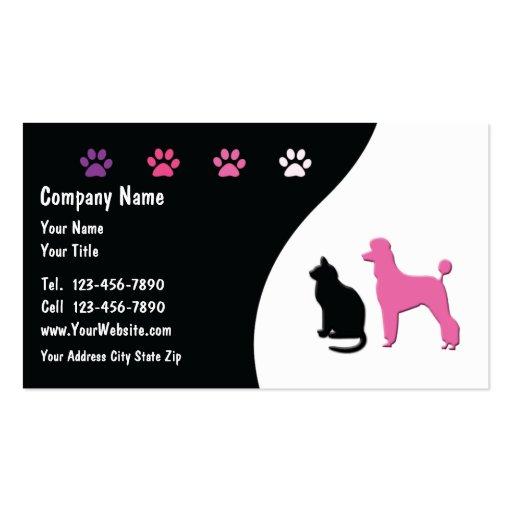 Pet Business Cards