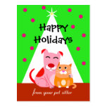 Pet Business Holiday Dog & Cat