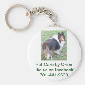 Pet Care by Orion Keychain