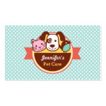 Pet Care Pet Food Shop Pack Of Standard Business Cards