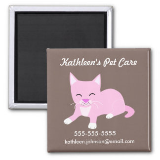 Pet Care Promotional Magnet