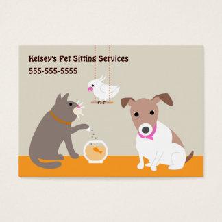 Pet Care Services Business Card